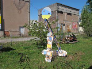 Pelerin 1 objet sculptural avril 2015